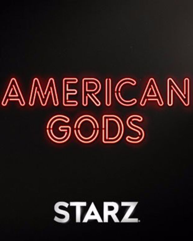 American Gods title treatment