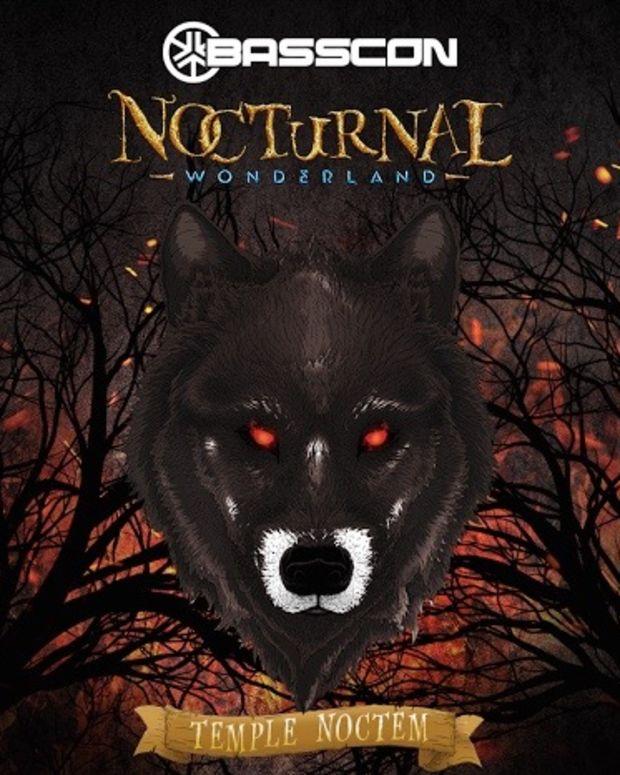 Nocturnal Wonderland Temple Noctem Stage Basscon