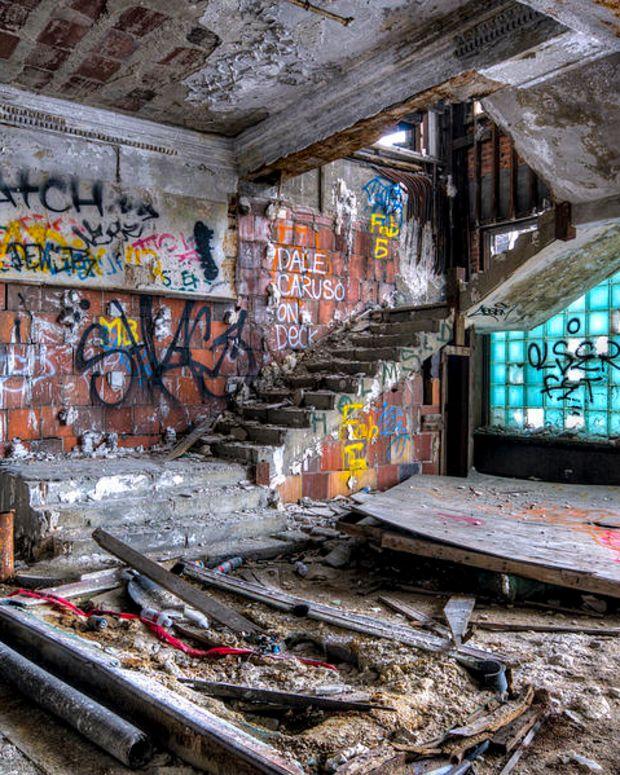 Detroit  Packard Plant Dimitri Hegemann Nightclub