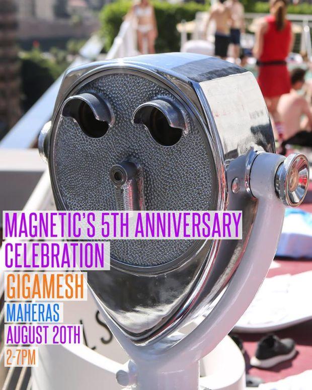Magnetic Magazine 5th Anniversary Celebration The Standard