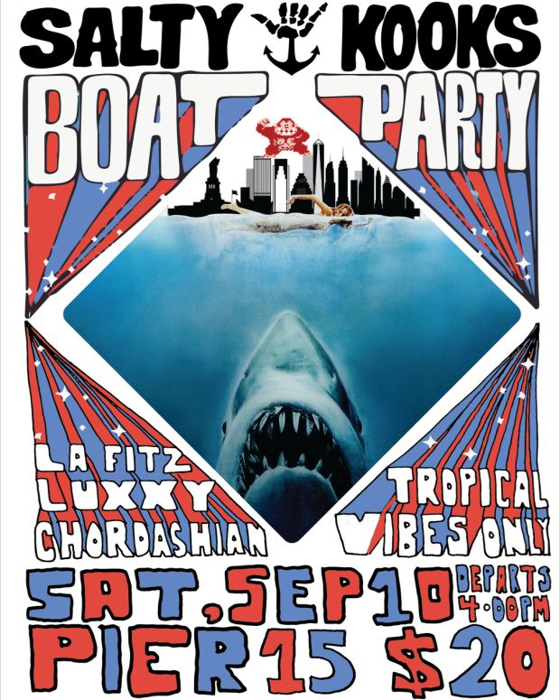 Salty Kooks Boat Party NYC