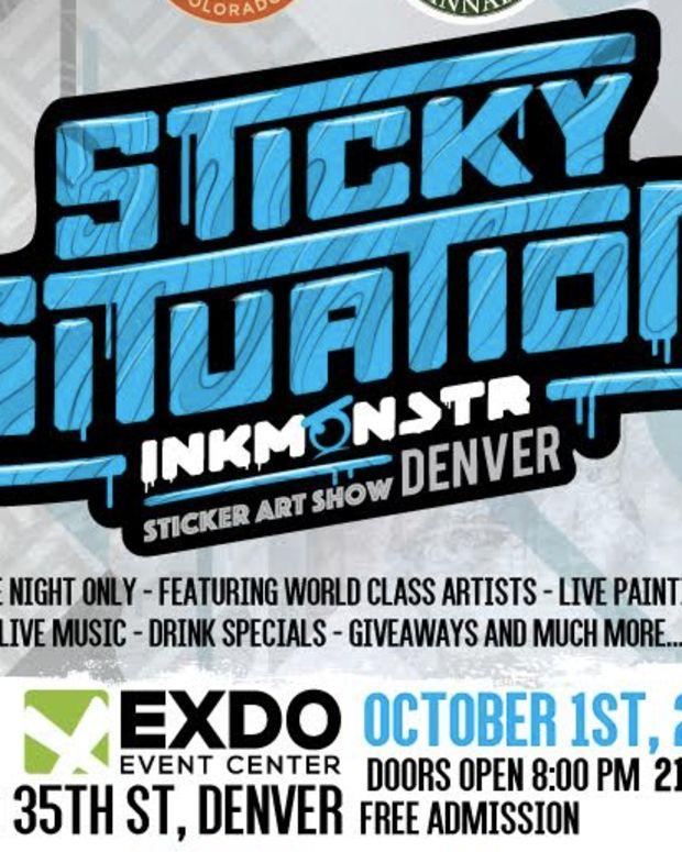 Ink Monstr Sticky Situation