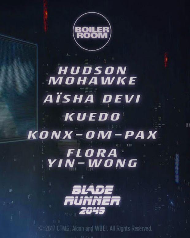 Boiler Room Blade Runner 2049