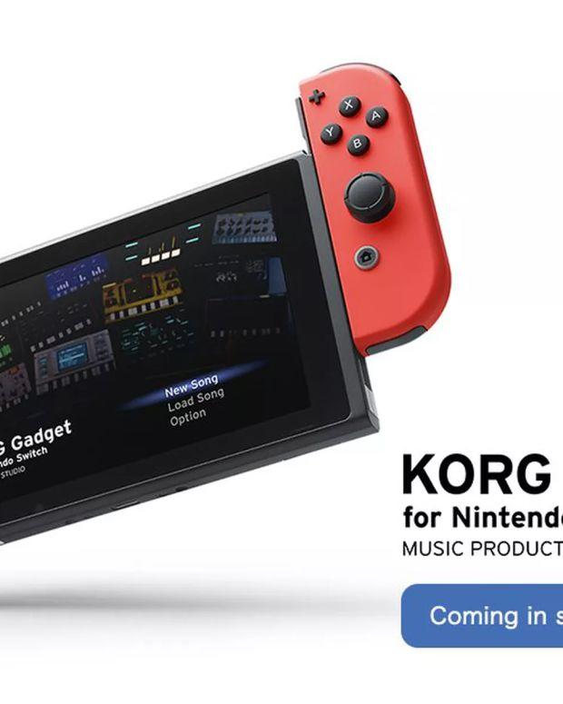 Korg Nintendo Switch