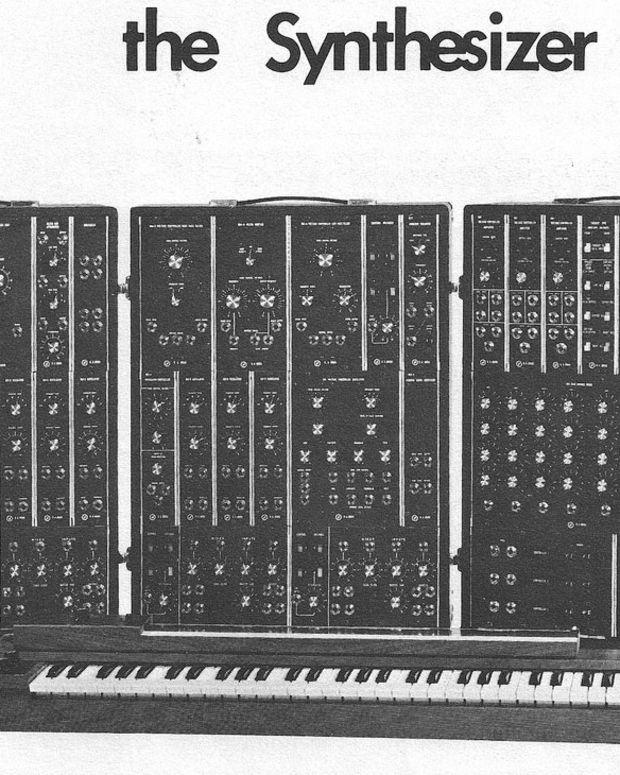 Moog IIIP Synthesizer