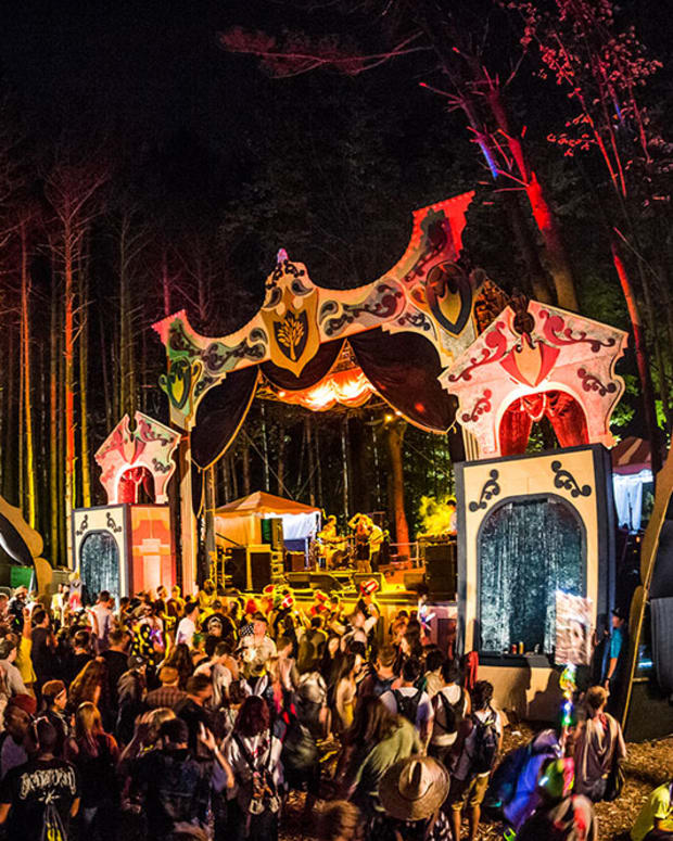 Electric Forest Forest stage