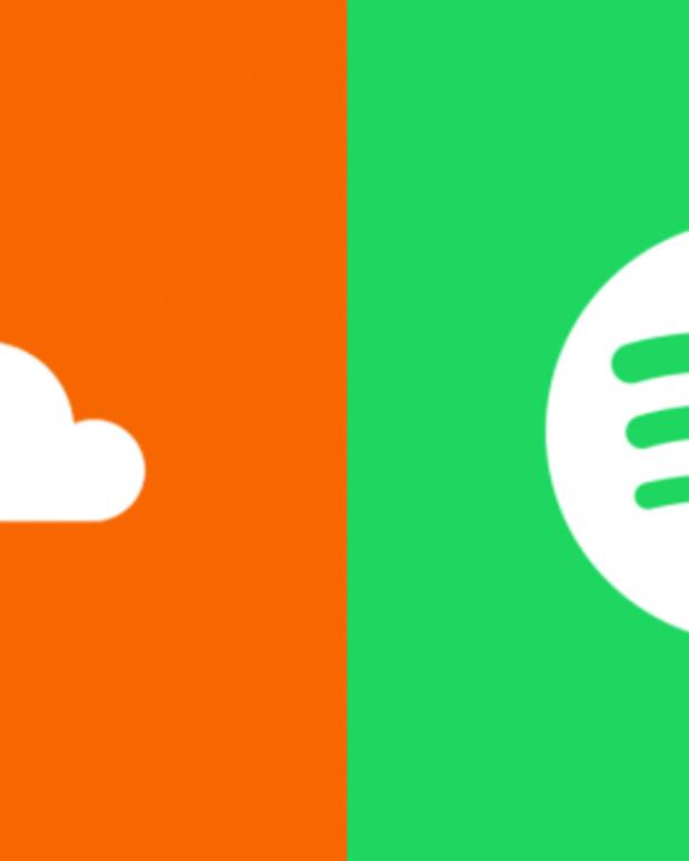 spotify vs. soundcloud