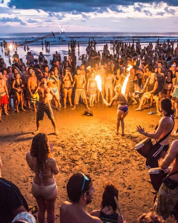 envision festival beach costa rica