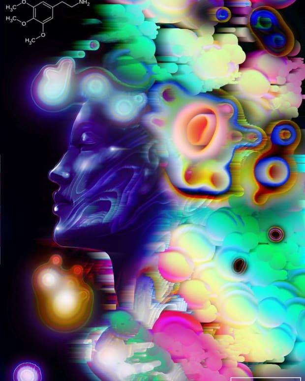 Day 17 - Mescaline (Illustration by Pixel-Pusha)