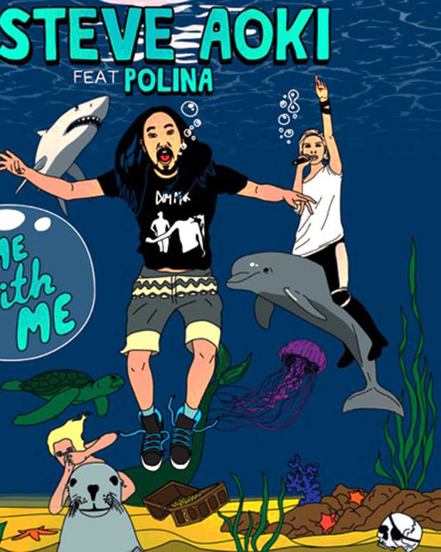 """Listen: Steve Aoki featuring Polina """"Come With Me"""" Deorro Remix"""