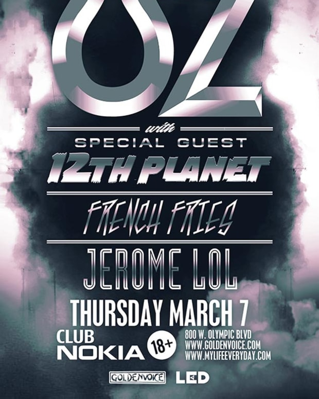 Contest: Goldenvoice & LED presents UZ with 12th Planet and French Fries at Nokia Theater
