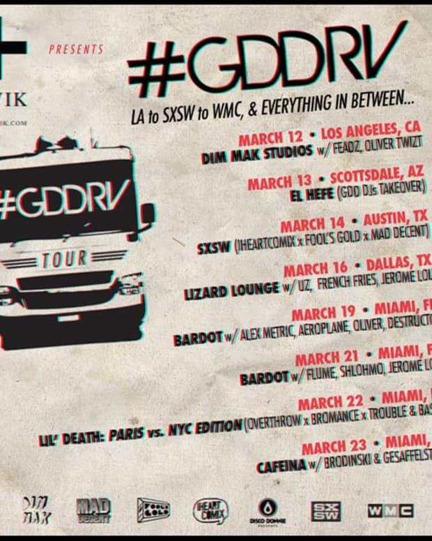 From LA to Miami: GDD Roadtrips To SXSW & WMC, With Plenty Of Stops In-Between