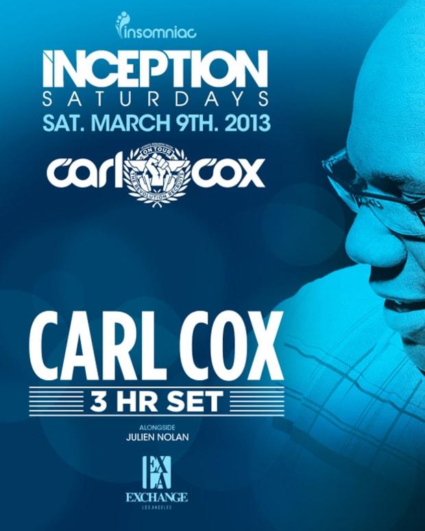 Contest: Insomniac Events Presents Carl Cox at Exchange LA