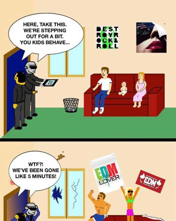 Art Intimidating Life: Daft Punk