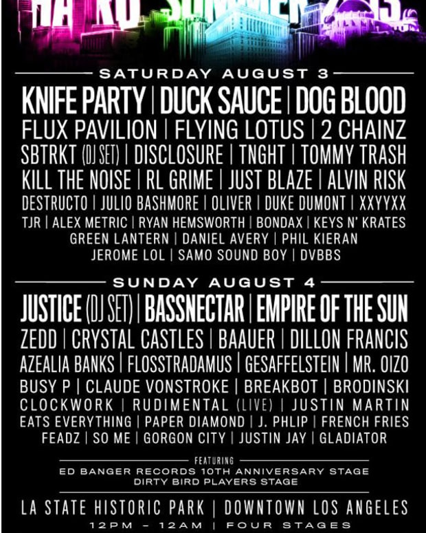 Who Let The Dogs Out? HARD Summer Music Festival Lineup & Trailer Unleashed