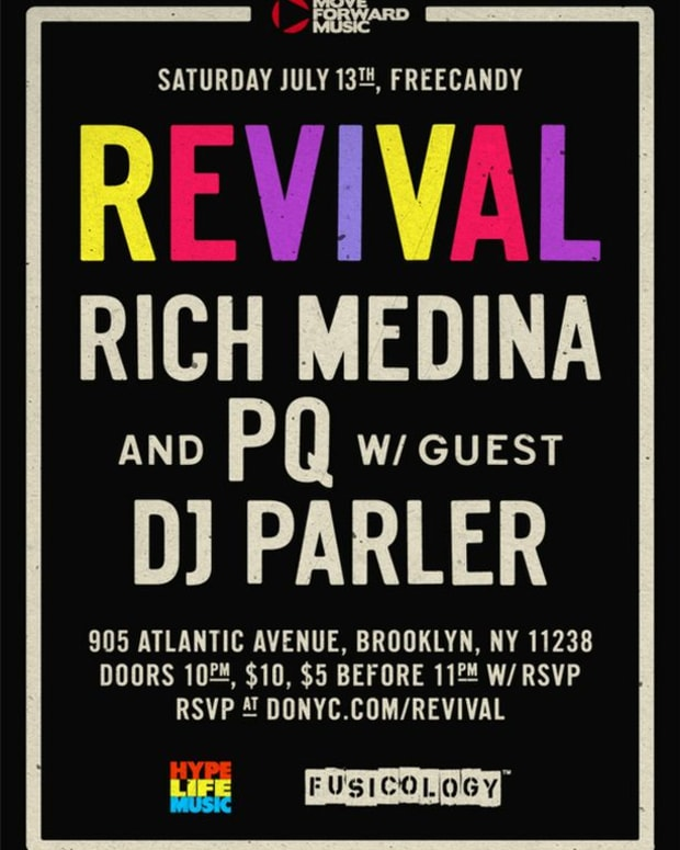 EDM Events: NYC 7/10-7/16 Weekend Roundup- Rich Medina, Laidback Luke, Bart B More And More