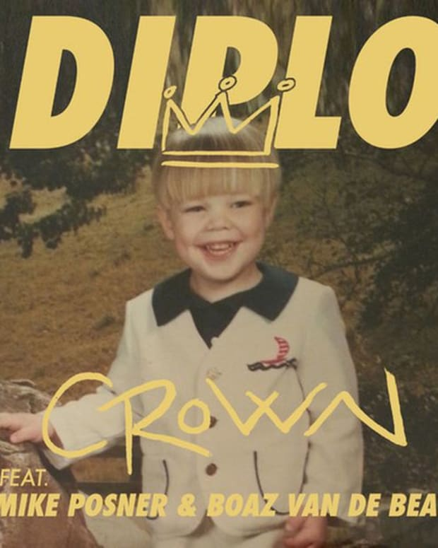 """EDM Download: Diplo's """"Crown"""" Featuring Mike Posner, Boaz Van De Beatz And Riff Raff Shared As A Free Download"""