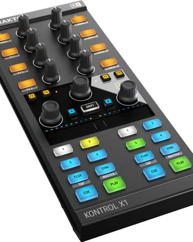 EDM Gear: Native Instruments' Releases New Traktor Kontrol X1- Adding Touch Control For Your Music; Out August 1st