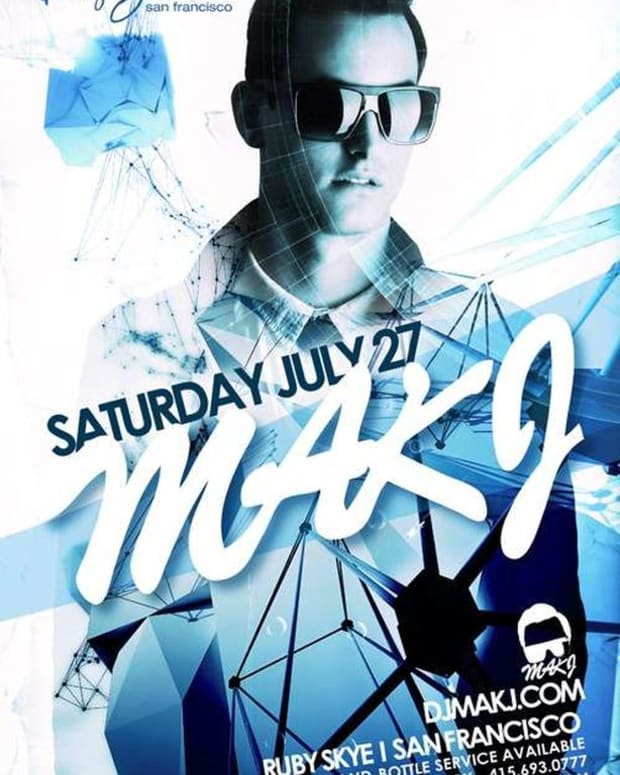 EDM Events: San Francisco's EDM Culture Scene July 25th to 27th; Performances By Bobina, MakJ, David Gregory, Rock-IT! Scientists And More