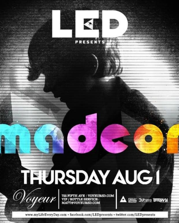EDM Culture - San Diego Events August 1st through the 4th- Madeon at Voyeur, Adult Swim Saturdays with Gabriel & Dresden and Get Wet with Krewella