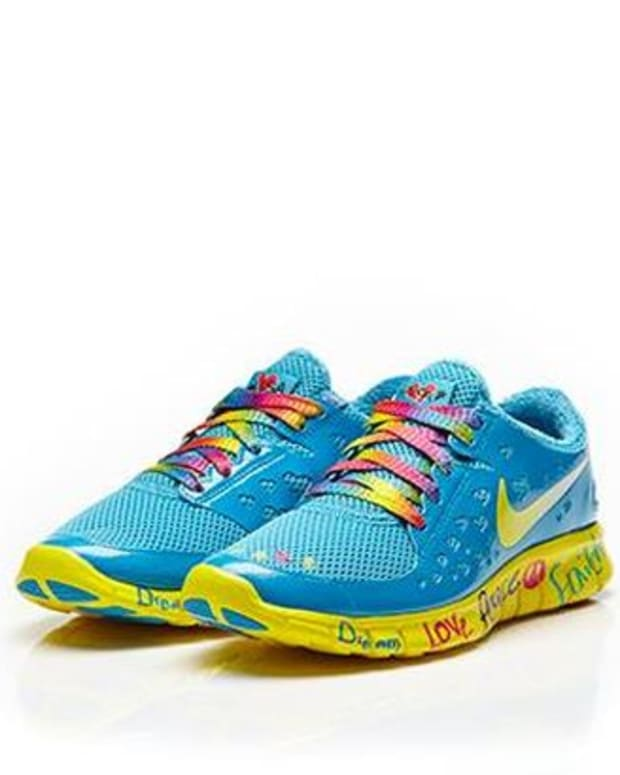 EDM Culture: Nike Re-Release's Free Run Shelby Lee's- Perfect Festival Shoes For The Ladies