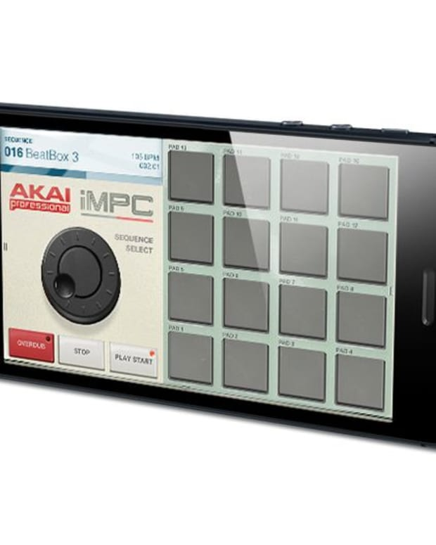 EDM News: Akai Launches iMPC App For iPhone- Make New Electronic Music In The Palm Of Your Hand
