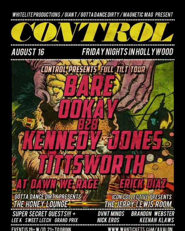 EDM Event: Control Fridays At Avalon-Aug. 16th Bare, OOKAY B2B Kennedy Jones, Tittsworth, Erik Diaz And More