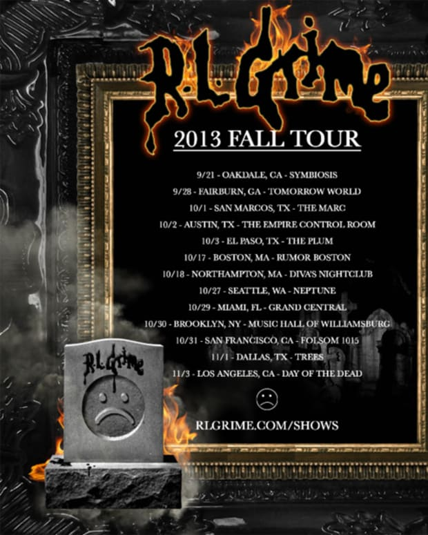 EDM News: RL Grime Announces Fall 2013 US Tour
