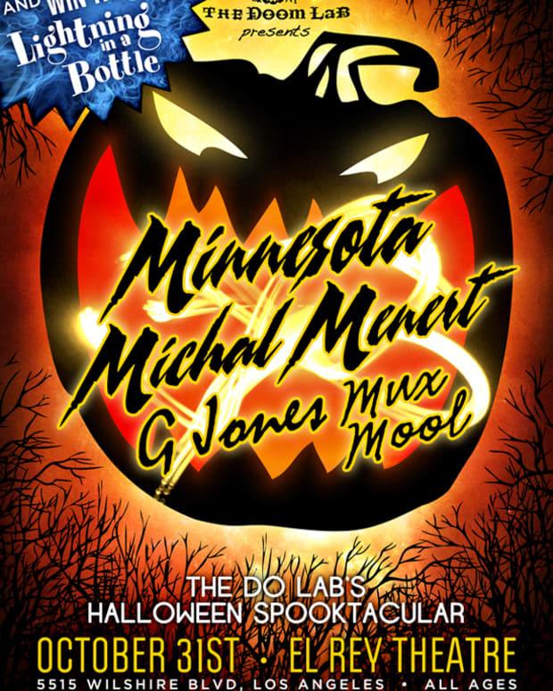 EDM News: The Doom LaB presents a Halloween Spooktacular with Minnesota, Michal Menert, G Jones, Mux Mool