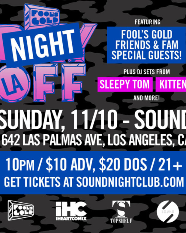 EDM Culture: Fool's Gold Night Off Party Inside Sound Nightclub- Win Tickets!