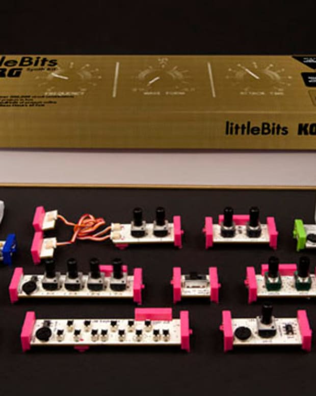 Korg Partners With Little Bits To Make Fun Sized DIY Synths - EDM News