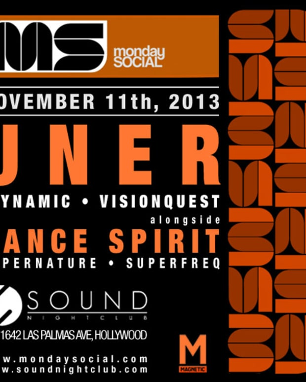 Win VIP Tickets To Monday Social At Sound NightClub Nov. 11 With Uner And Dance Spirit Performing
