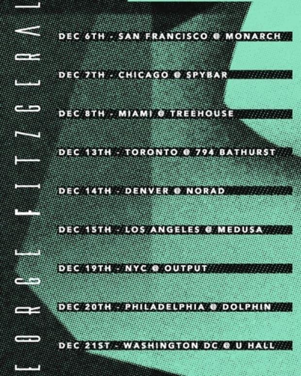 "George FitzGerald Releases ""Magnetic"", Announces US Tour Dates - EDM News"