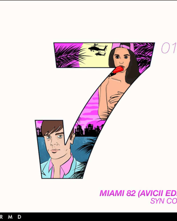 """Avicii Re-Edits Syn Cole's """"Miami 82""""; Premiers On Pete Tong's Radio Show - New Electronic Music"""
