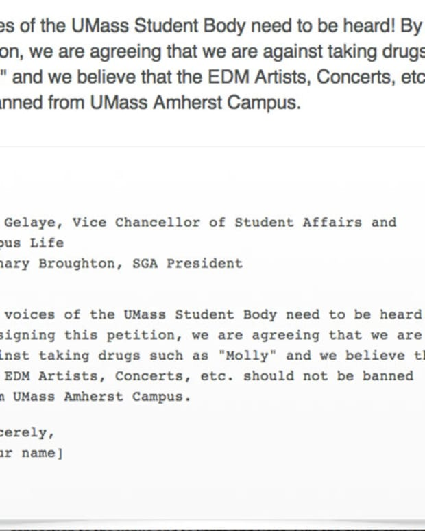 UMASS Bans Electronic Dance Music On Campus; Students Start Petition To Reclaim Their Rights - EDM News