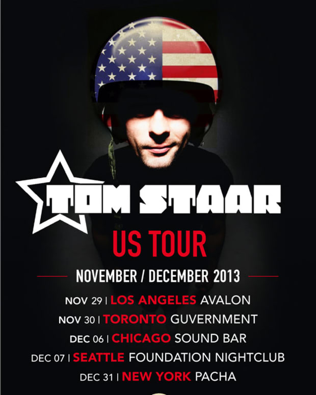 Magnetic Talks With Tom Starr Before His Show with Funkagenda, and Sebjak At The Control This Friday