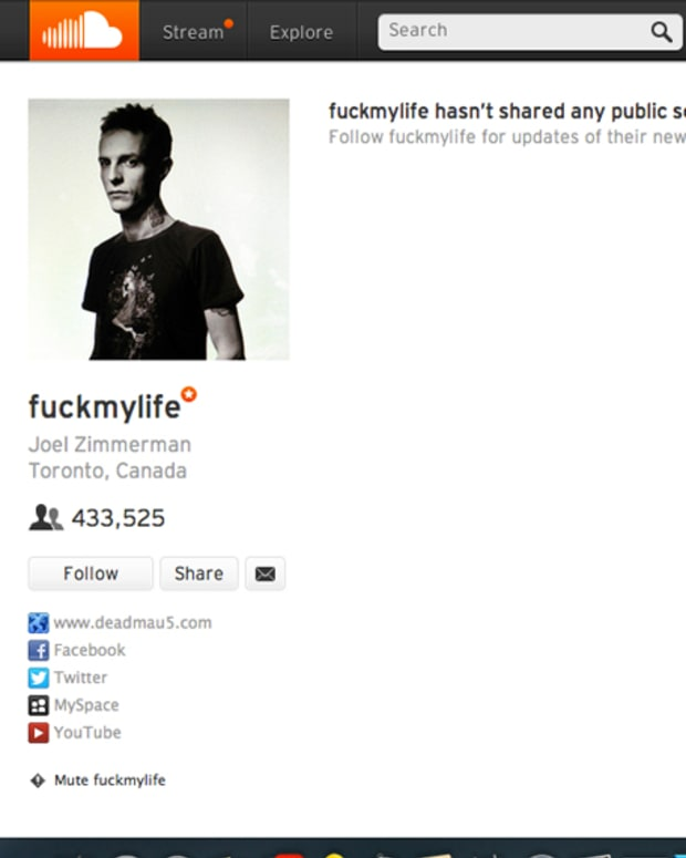 deadmau5' Soundcloud Page Is Still There, The Sounds Just Aren't - EDM News