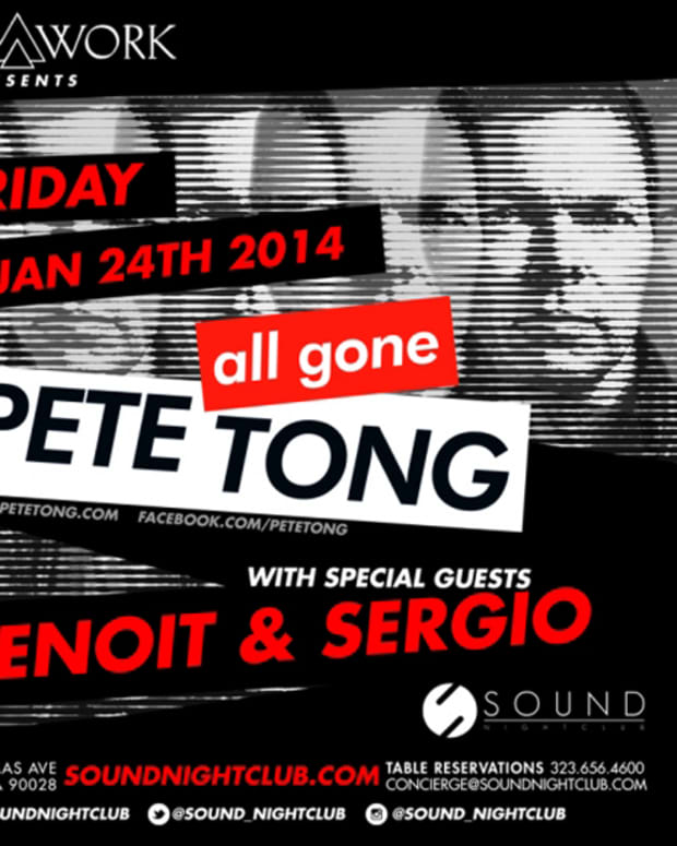 Pete Tong Announces Monthly Residency At Sound Nightclub In Hollywood - EDM News