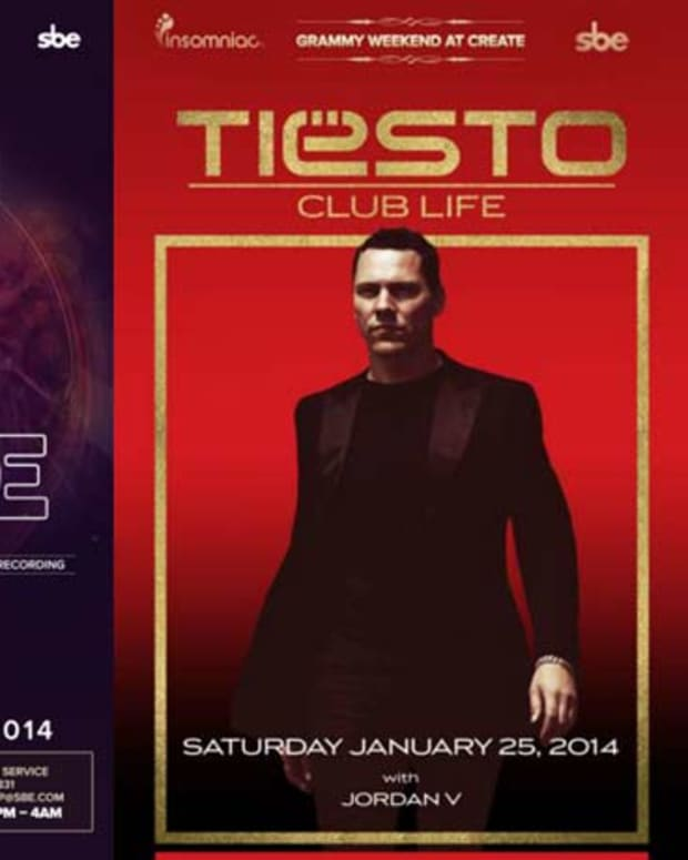 Kaskade And Tiesto Take Over Create Nightclub Grammy Weekend - Win Tickets To Tiesto!