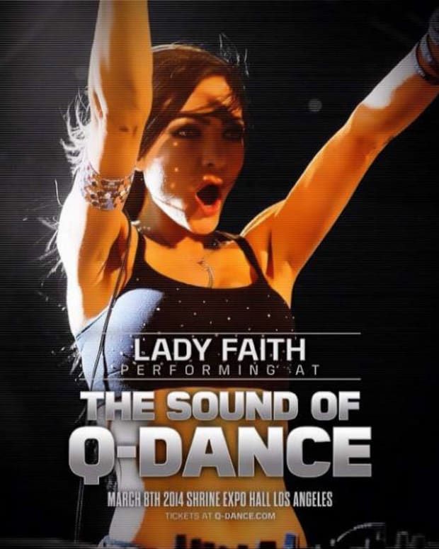 Lady Faith Talks On The Harder Side Of EDM Culture At Q-Dance