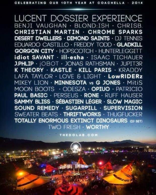 The Do Lab Announces Coachella Line-Up