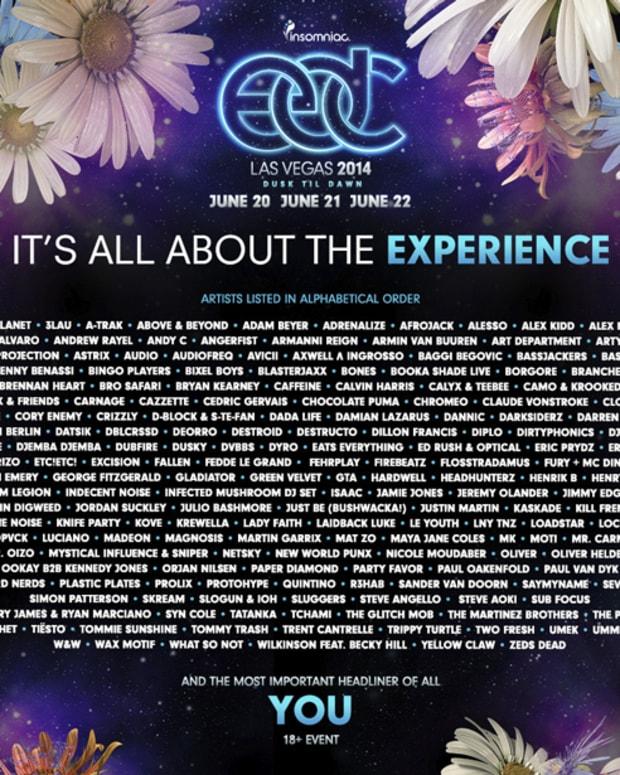 EDC Las Vegas 2014 Full Lineup Announced