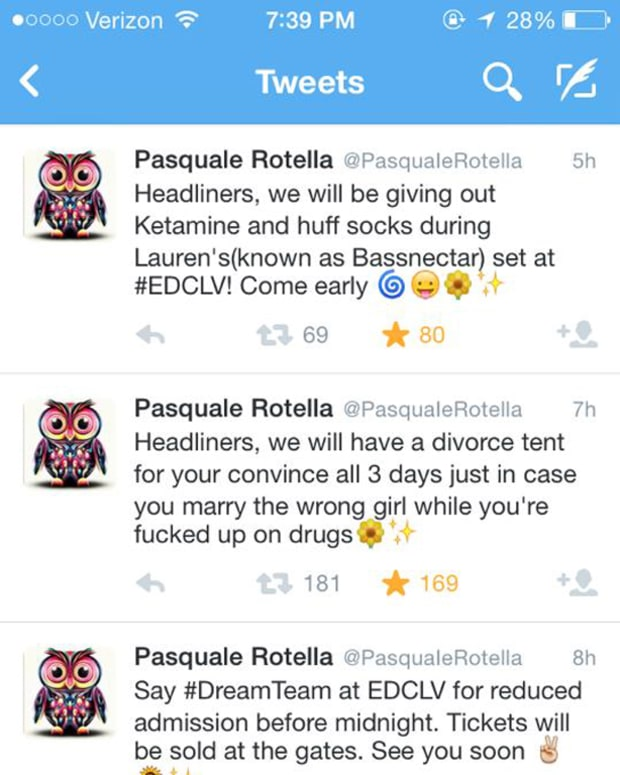 Stay Away From The Fake Pasquale Rotella Twitter Account!