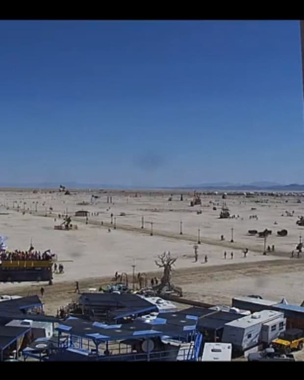Watch The Live Stream Of Burning Man 2014