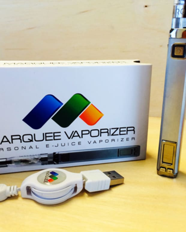 Gadget Review: The Marquee Personal E-Juice Vaporizer