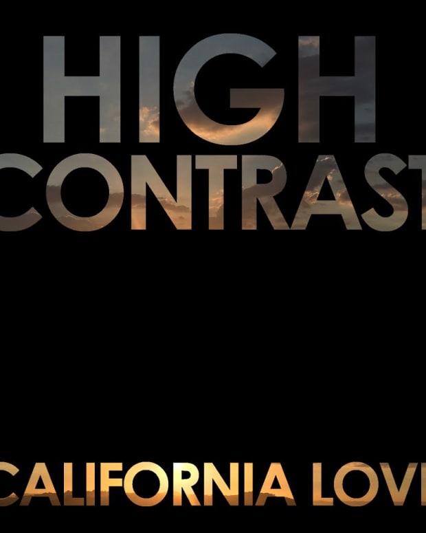 high contrast - california love