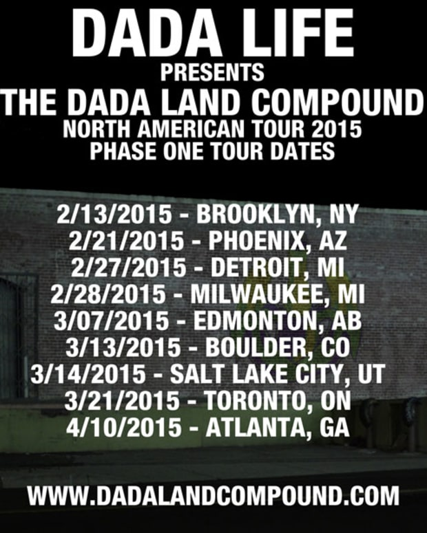 Dada Life Announces 2015 Dada Land Compound Parties