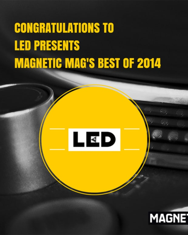 The Winner Of The Best Promoter Category for Magnetic Mag's Best Of 2014