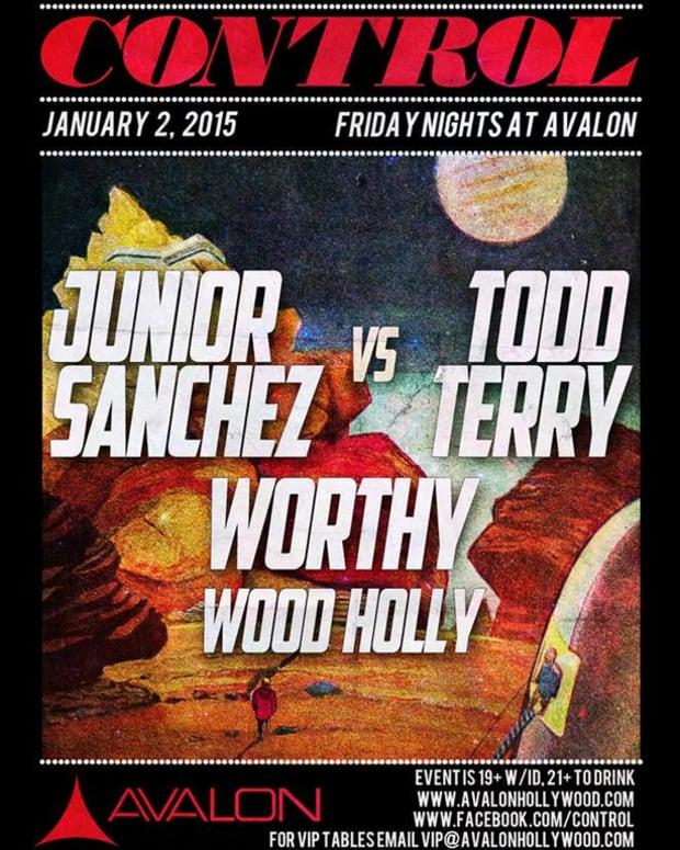 Junior Sanchez vs Todd Terry at Avalon Hollywood Friday