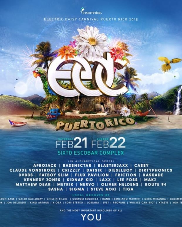 EDC Puerto Rico Lineup Finalized